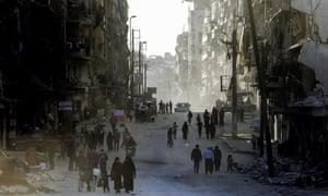 Aleppo in the present day
